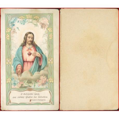 Santino o dolcissimo Gesù non siatemi giudice ma Salvatore