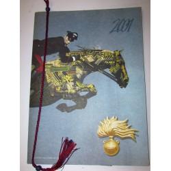 Calendario Carabinieri 2001