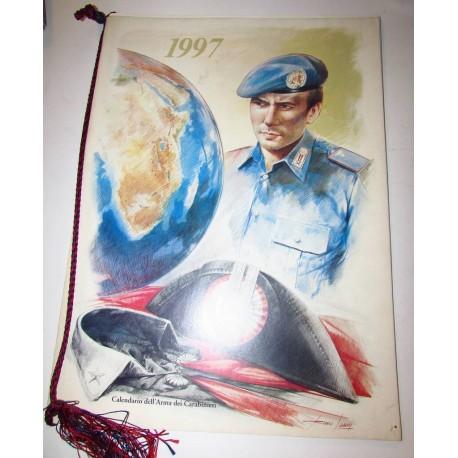 Calendario Carabinieri 1997
