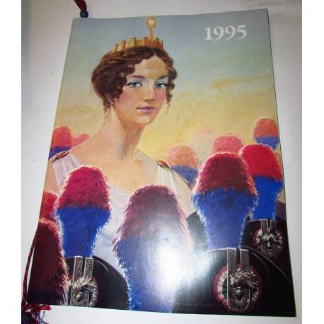 Calendario Carabinieri 1995