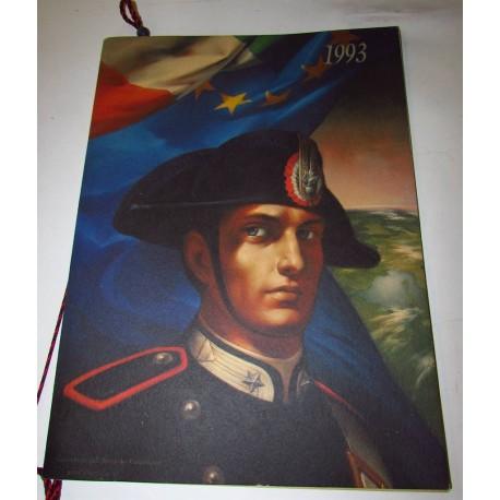 Calendario Carabinieri 1993