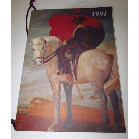 Calendario Carabinieri 1991