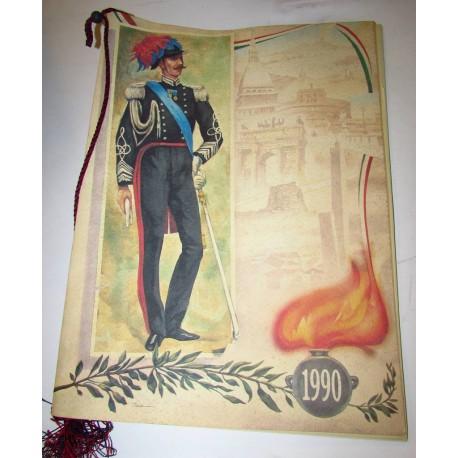 Calendario Carabinieri 1990