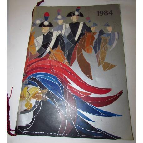 Calendario Carabinieri.Calendario Carabinieri 1984