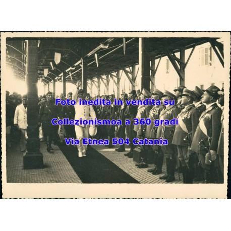 Foto visita di Mussolini in Sicilia