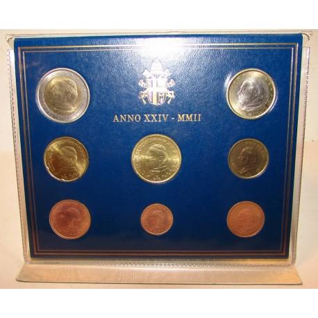 Monete Vaticano 2002