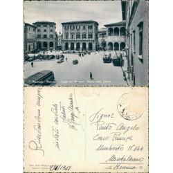 Cartolina di Macerata Loggia dei mercanti