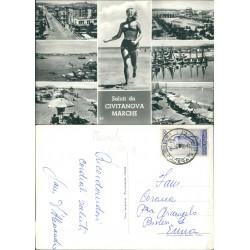 Cartolina saluti da Civitanova Marche