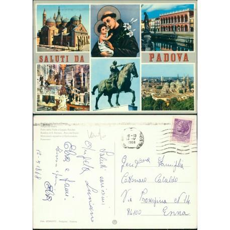 Cartolina Padova Montegrotto Terme Hotel terme Mioni