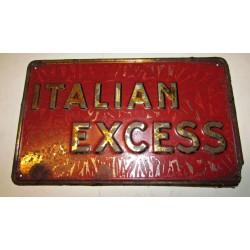 Latta assicurativa Italian Excess