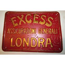Latta assicurativa Excess assicurazioni generali Londra