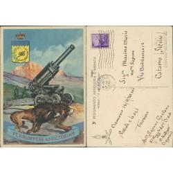 Cartolina Alvaro Mairani3 reggimento artiglieria d'armata