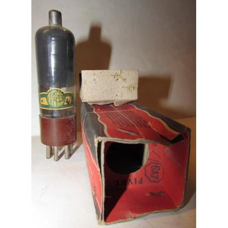 Valvola vintage Fivre 6A7 gt mai usata