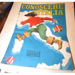 ALBUM CONOSCERE L'ITALIA BAGGIOLI 1966