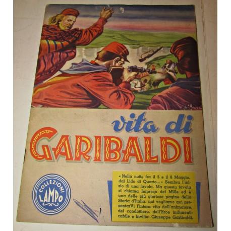 Vita di Garibaldi collezioni Lampo album di figurine 1961