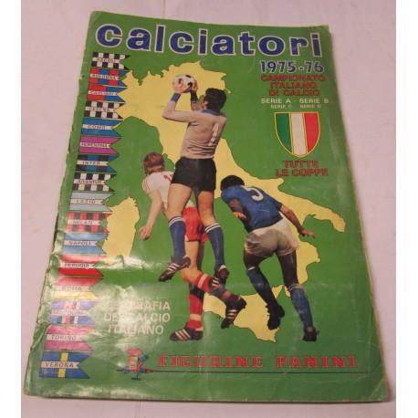 Album di figurine calcio Panini anno 75/76