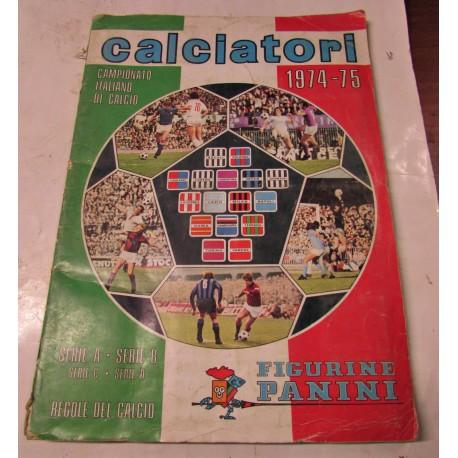 Album di figurine calcio Panini anno 74-75 completo