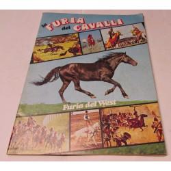 La furia dei cavalli Furia del west edizione MG 1978
